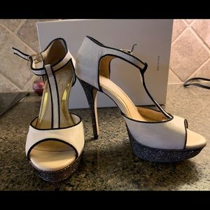 Heels for the evening -dress up or down